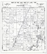 Pike and Lake Townships - Part, Muscatine County 1943